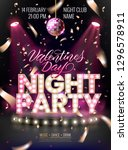 night party background for... | Shutterstock .eps vector #1296578911