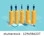 gender equality and equal... | Shutterstock .eps vector #1296586237