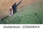 aerial drone bird's eye view of ... | Shutterstock . vector #1296608314
