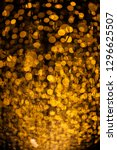 sparkling golden dust   bokeh...   Shutterstock . vector #1296625507