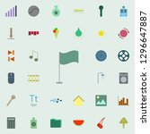 flag icon. color web icons...