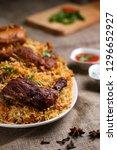 photo of tasty cooked chicken... | Shutterstock . vector #1296652927
