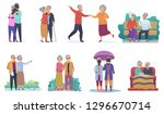 active lifestyle old... | Shutterstock .eps vector #1296670714