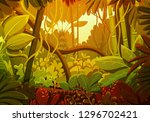 Vector Illustration Of Tropical ...