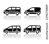 Set Of Transport Icons   Cargo...