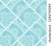 line art seamless pattern for... | Shutterstock .eps vector #1296744394