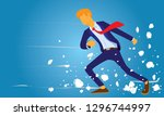 vector illustration  determined ... | Shutterstock .eps vector #1296744997