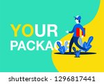package delivery vector...