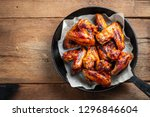 Baked Chicken Wings In Barbecue ...