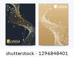 modern vector template for... | Shutterstock .eps vector #1296848401