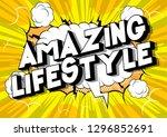 amazing lifestyle   vector...   Shutterstock .eps vector #1296852691