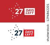 27 days left sign   emblem ...