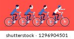 male business tandem.... | Shutterstock .eps vector #1296904501