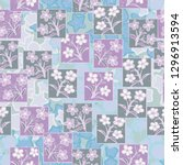 seamless pattern made up of...   Shutterstock .eps vector #1296913594