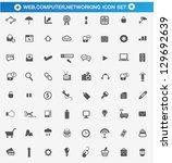 universal web  computer ... | Shutterstock .eps vector #129692639