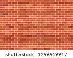 brown brick wall background | Shutterstock .eps vector #1296959917
