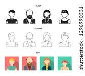 boy in a cap  redheaded...   Shutterstock . vector #1296990331