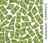banknotes background  money...   Shutterstock .eps vector #1296999571