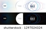 abstract design for wallpaper ... | Shutterstock .eps vector #1297024324
