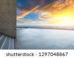 city skyline and buildings with ... | Shutterstock . vector #1297048867
