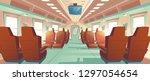 vector background of spacious... | Shutterstock .eps vector #1297054654