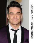 Robbie Williams Arrives For The ...