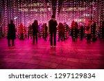 london  england   january 2019  ... | Shutterstock . vector #1297129834