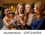 celebration  bachelorette party ... | Shutterstock . vector #1297144354