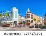 los angelos  california  usa  ...   Shutterstock . vector #1297171801