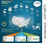 detail modern infographic... | Shutterstock .eps vector #129718577