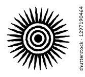 sun icon. sun symbol for design.... | Shutterstock .eps vector #1297190464