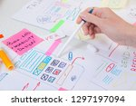 ux designer create design...
