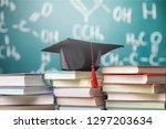 university degree master... | Shutterstock . vector #1297203634