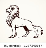 beautiful african proud... | Shutterstock .eps vector #1297240957