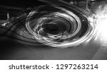abstract twirl motion blur... | Shutterstock . vector #1297263214