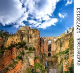 The Village Of Ronda In...