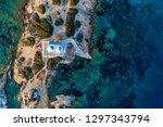 aerial view of the church st...   Shutterstock . vector #1297343794