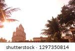 dakshineswar kali temple kolkata | Shutterstock . vector #1297350814