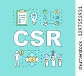 csr word concepts banner....