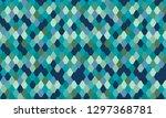 snake skin texture print design.... | Shutterstock .eps vector #1297368781