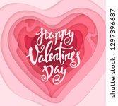vector elegant greeting card... | Shutterstock .eps vector #1297396687