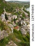 pocitelj  bosnia and hercegovina | Shutterstock . vector #129744845