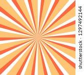 abstract sunburst or sunbeams... | Shutterstock .eps vector #1297492144