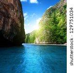 Bay At Phi Phi Island In...