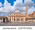 St. Peter's Basilica On Saint...