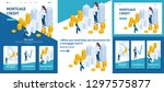 set template article  landing... | Shutterstock .eps vector #1297575877