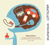 consumer | Shutterstock .eps vector #129762989