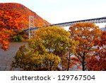 Bear mountain bridge with...