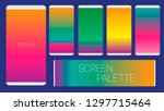 screens vibrant gradient...