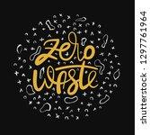 handwritten lettering poster  ... | Shutterstock .eps vector #1297761964